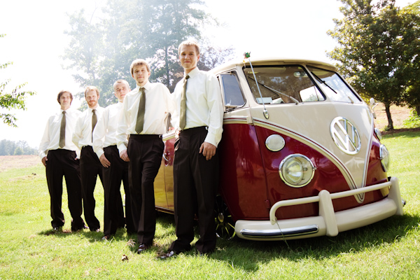 The guys with a VW bus