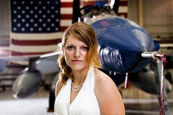 Lauren, F-16, American Flag