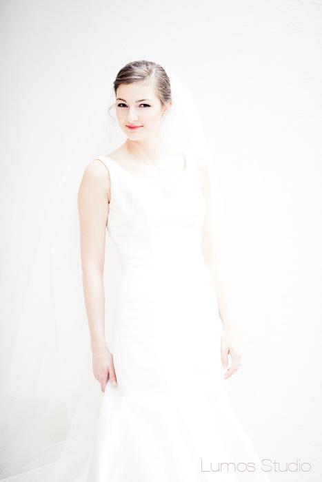 Bride on the Horseshoe at USC