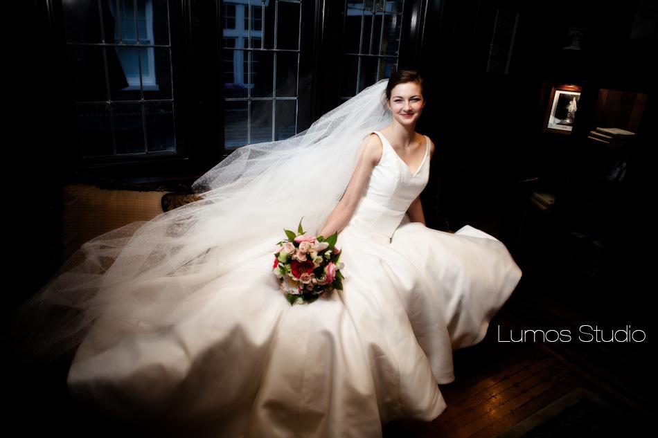 Bride at the Inn at USC