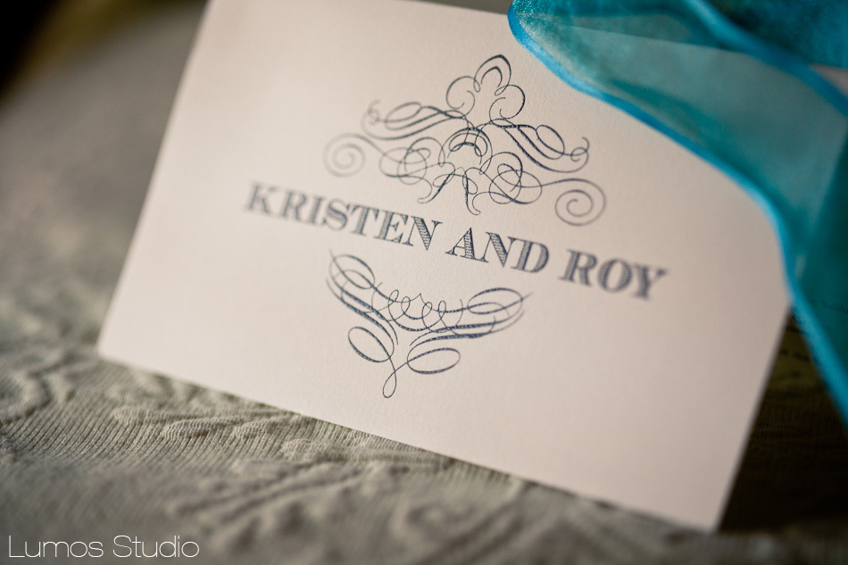 Kristen + Roy Wedding Program