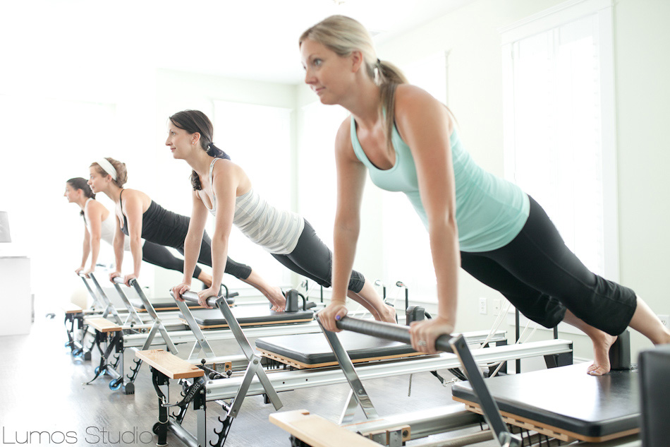 Class at Pilates of Charleston