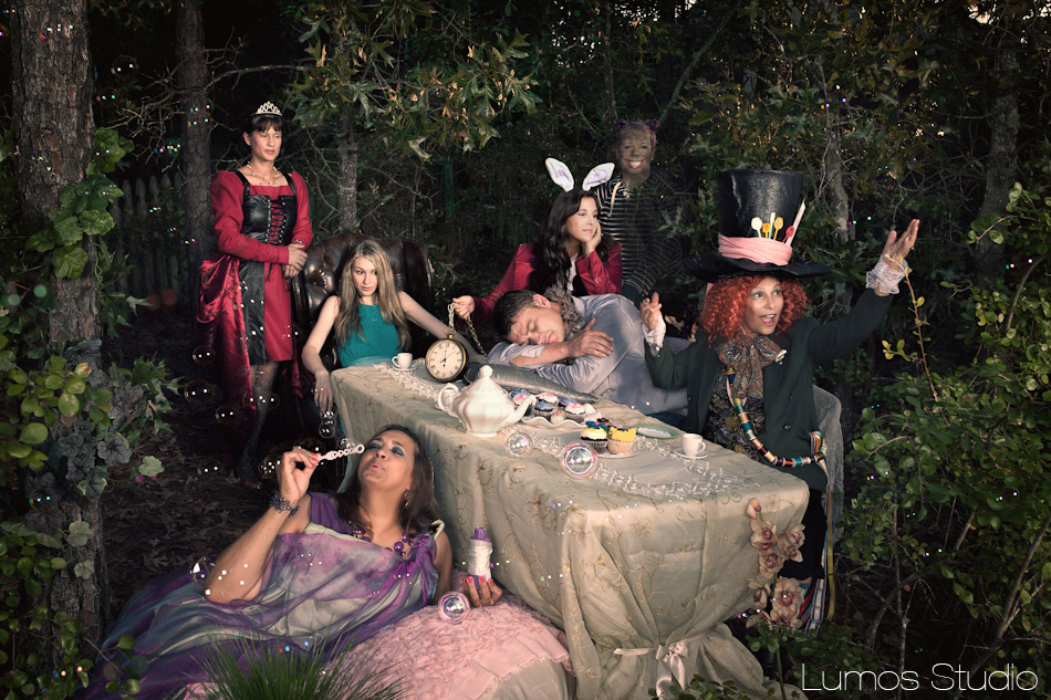 Alice In Wonderland Photograph