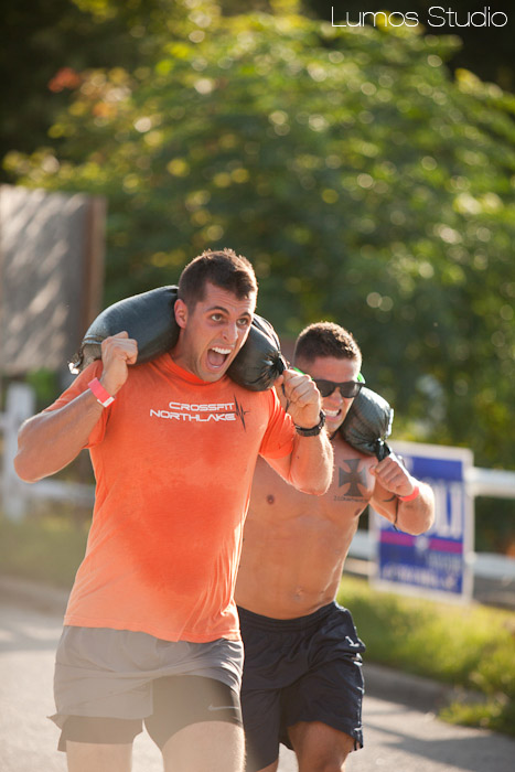 Crossfit Sandbag Run