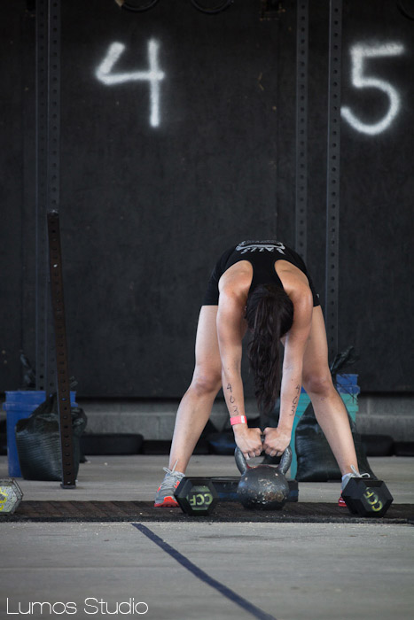 Kettlebell fatigue at the Famously Hot Showdown
