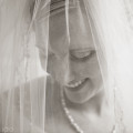 Beautiful bride at her wedding in Columbia, SC
