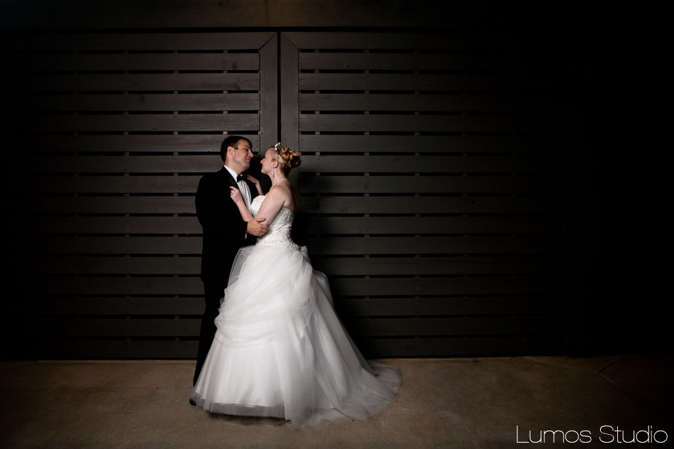 Bride and groom at Saluda River Club