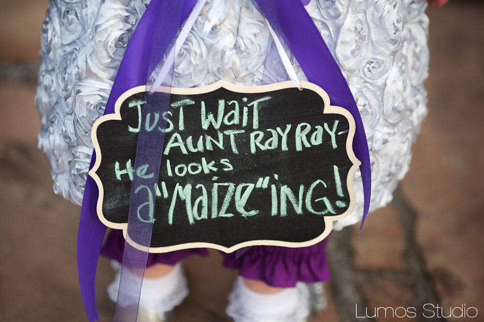 Clever idea for flower girl