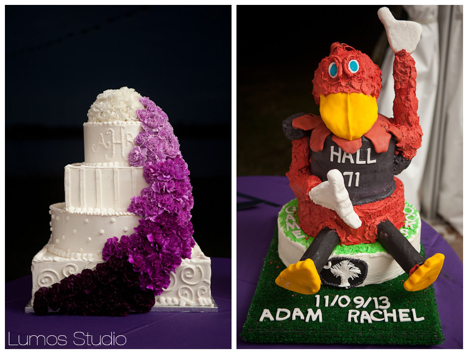 Wedding cake, Cocky cake