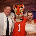 The Clemson tiger came to the wedding!