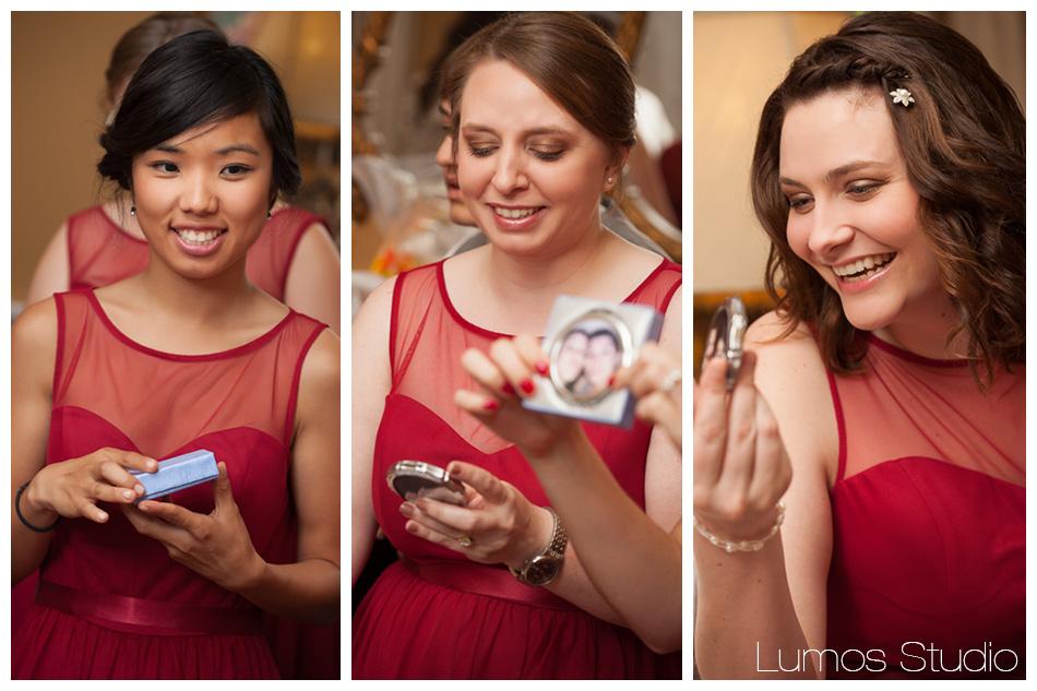 3 vert bridesmaids