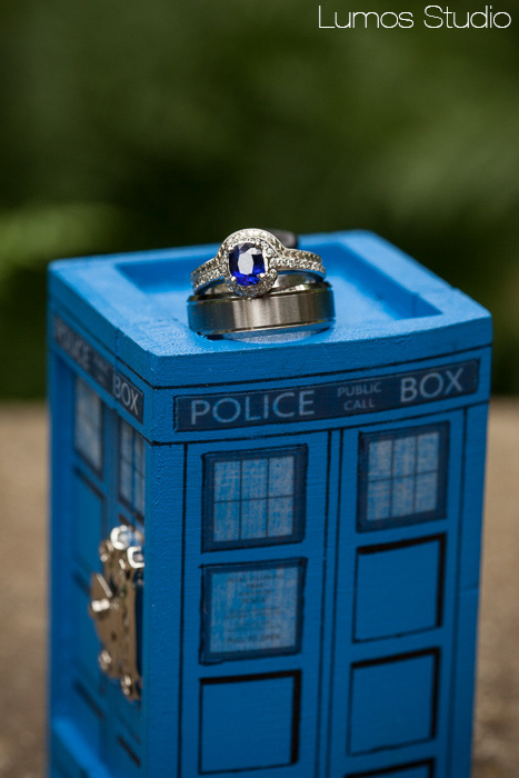 Dr Who Ring Box