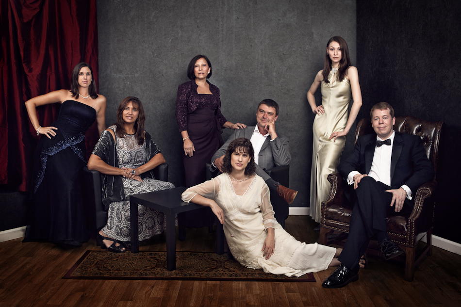 The Cast of The World Languages Department from Vanity Fair