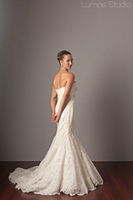 Isn't Rosey an elegant bride?