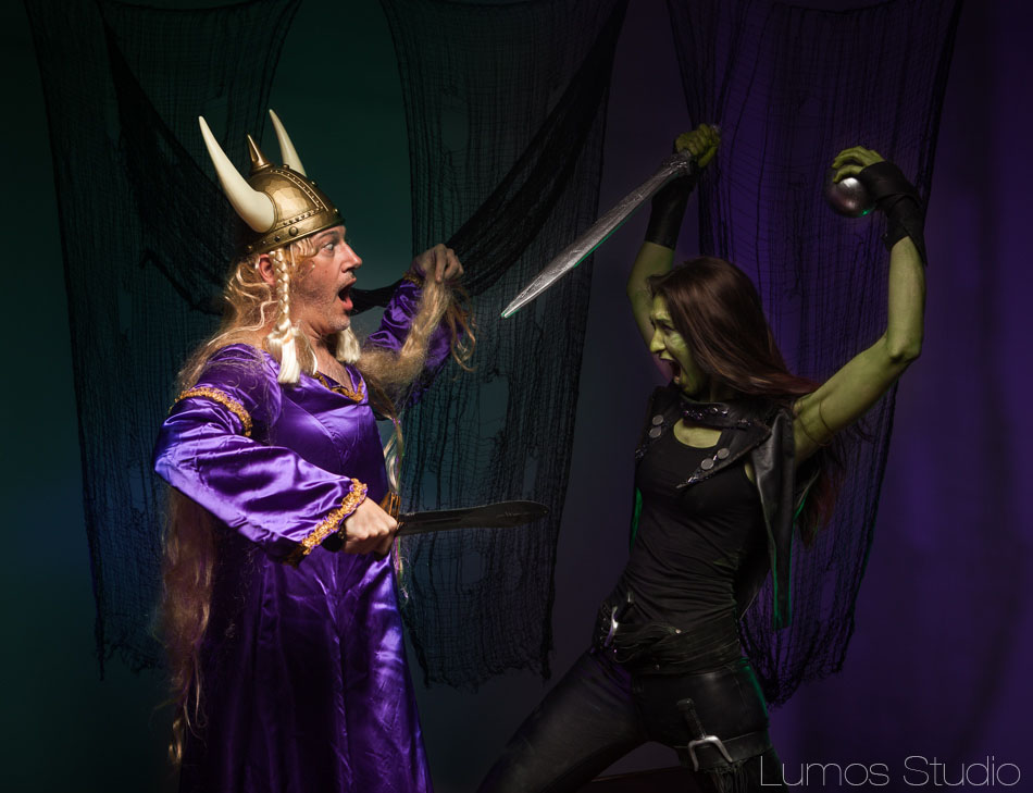 Gamora vs Brunhilde
