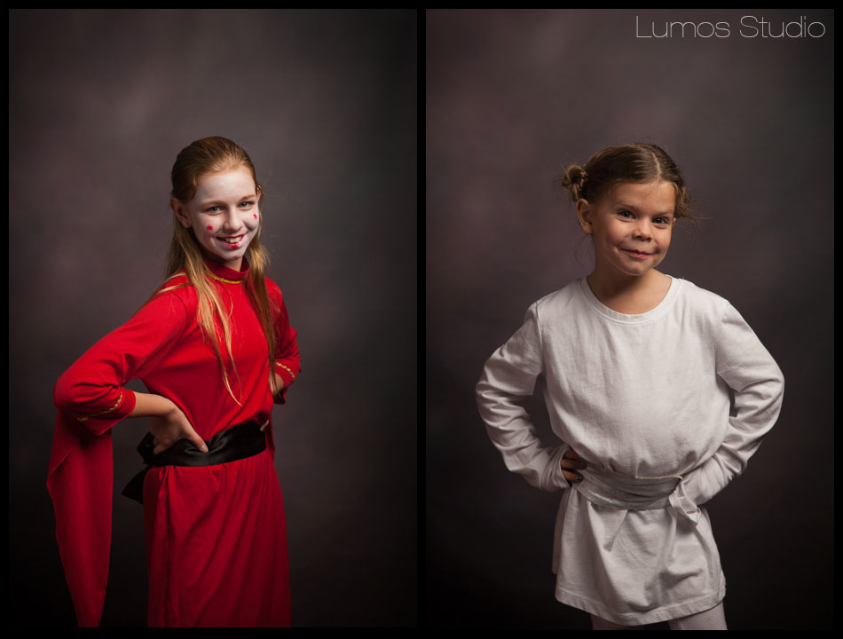 Padme and Princess Leia