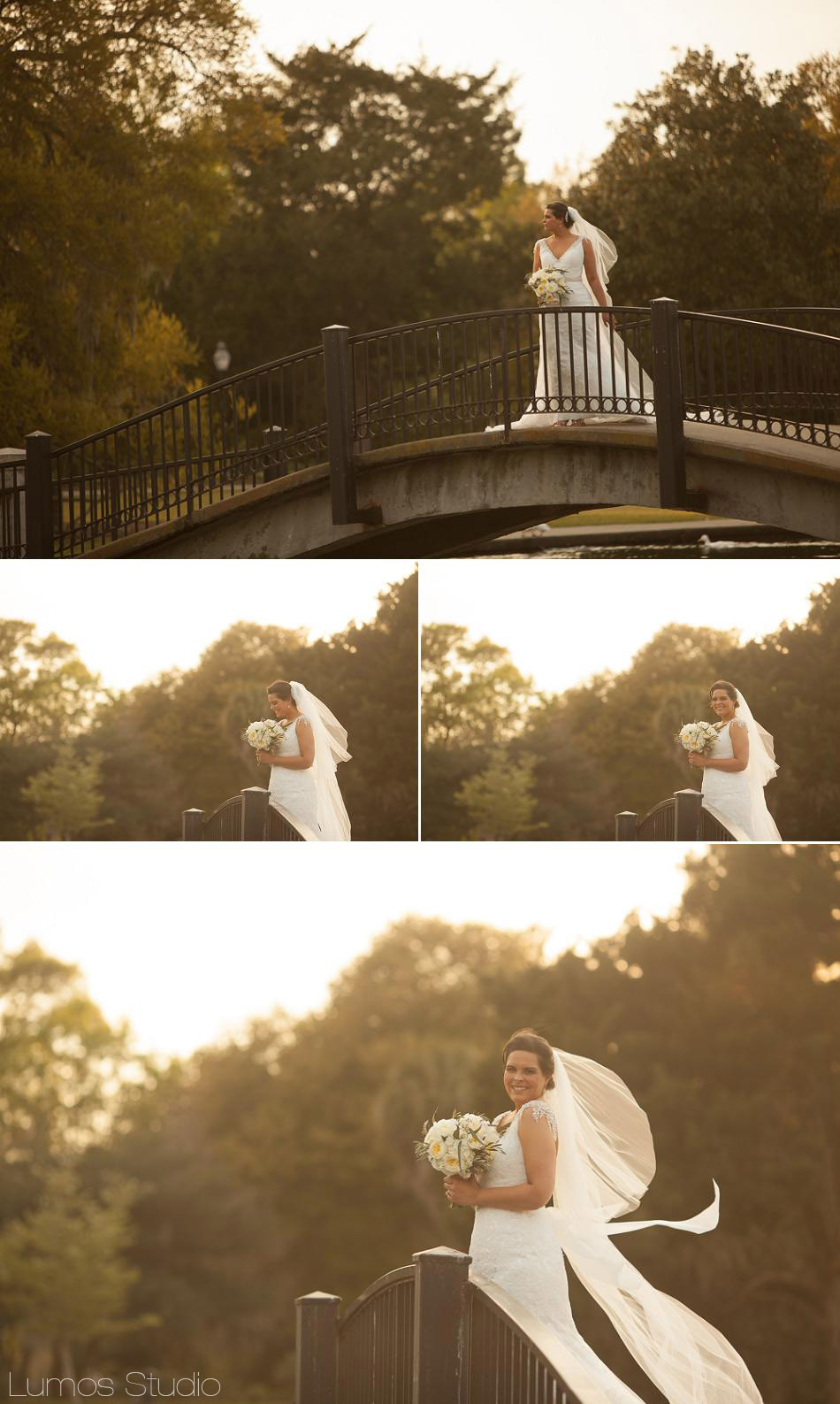 Bridal Portraits at Hampton Park