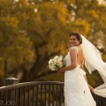 A beautiful bride in Charleston's Hampton Park